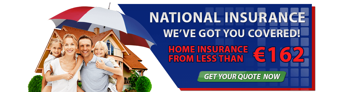 Home Insurance from Euro 162